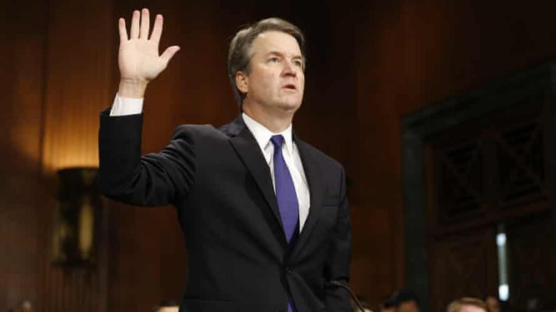 FBI facing allegation that its 2018 background check of Brett Kavanaugh was 'fake'