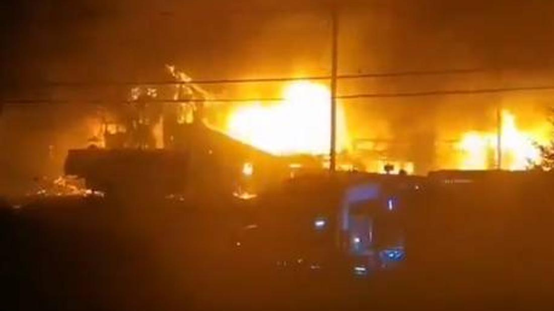 Man in hospital after overnight fire destroys Middle West Pubnico lobster pound