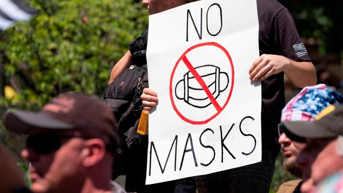 Despite Rampant Infighting, the Canadian Anti-Mask Movement Isn't Going Anywhere