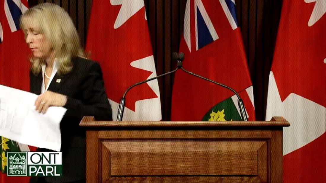 'Unprofessional': Doug Ford's Long-Term Care Minister Won't Answer Questions, Storms Out Of Press Conference