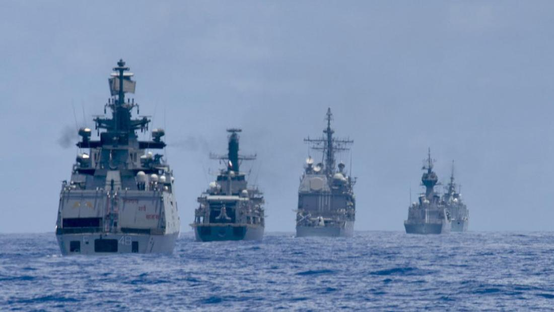 Canadian navy performing provocative manoeuvres in South China Sea