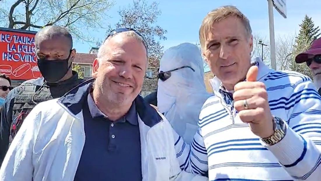 Montréal's Biggest COVID-19 Vaccination Site Shut Down Thanks to Online Fringe Groups, QAnon Followers and Maxime Bernier