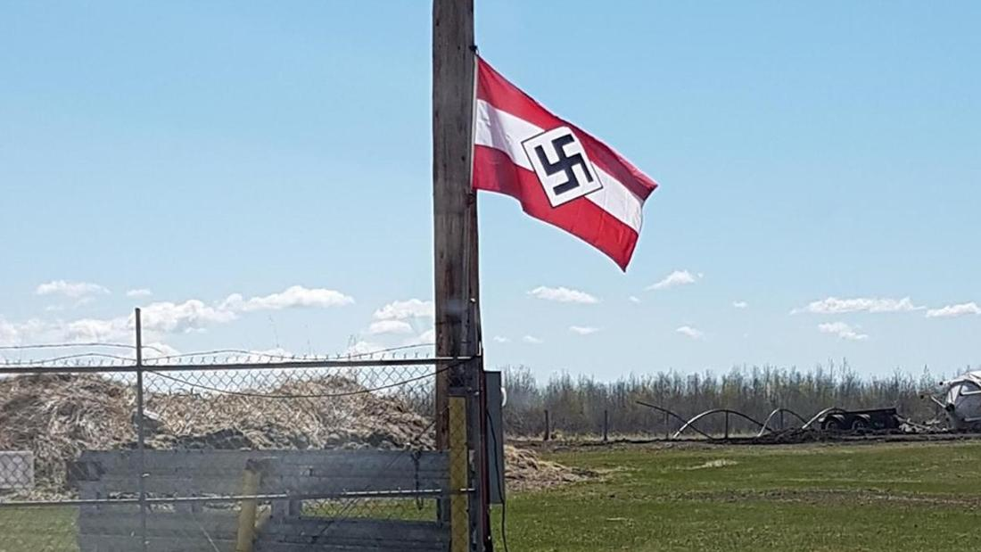 A Nazi Flag Is Flying in Canada, and It's Not Coming Down