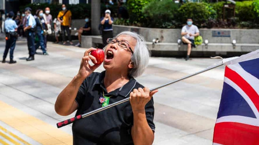 Hong Kong's 'Grandma Wong' arrested for solo Tiananmen protest