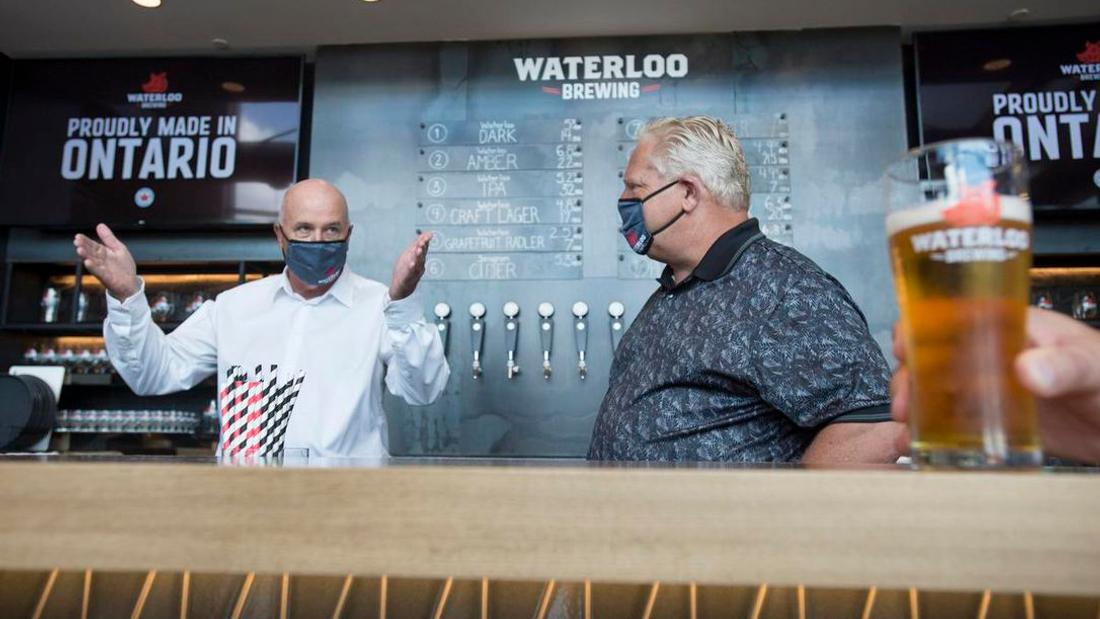 Doug Ford defends closure of indoor restaurant and bar service as industry warns tens of thousands of jobs will be lost