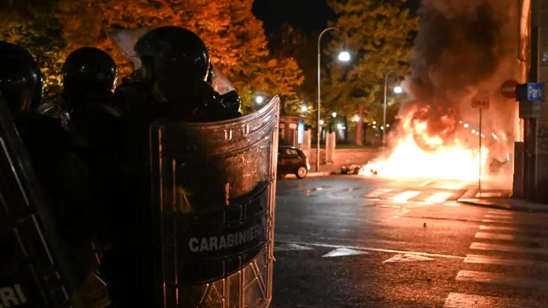 Global coronavirus report: Italian police use teargas to disperse lockdown protests
