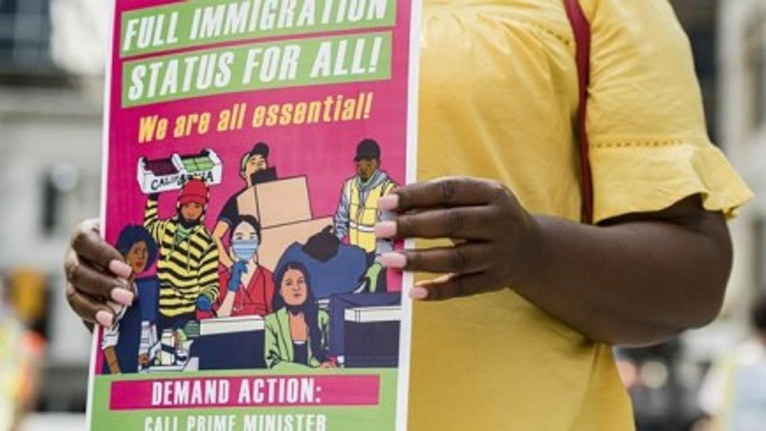 Advocates call for migrant care worker protections, document alleged pandemic abuses