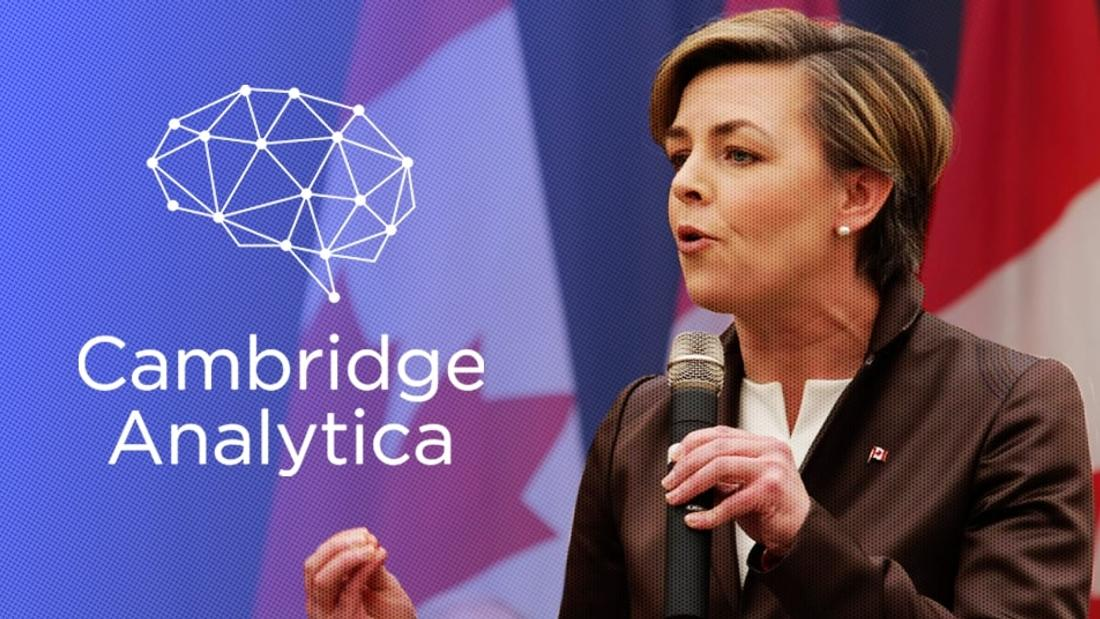 Cambridge Analytica Offered Kellie Leitch a Plan to Use Data About Canadians Who Visit Far-Right News Sites