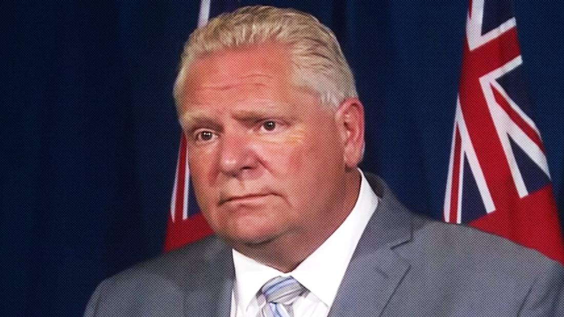 'It's A Free Market Society': Doug Ford Dismisses Concerns About Company Charging $400 For COVID-19 Tests
