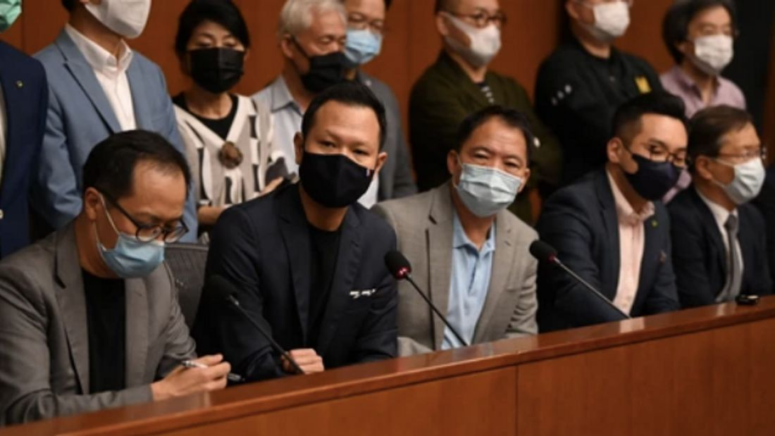 China Ousts Hong Kong Pro-Democracy Lawmakers After Passing 'Patriotism' Resolution
