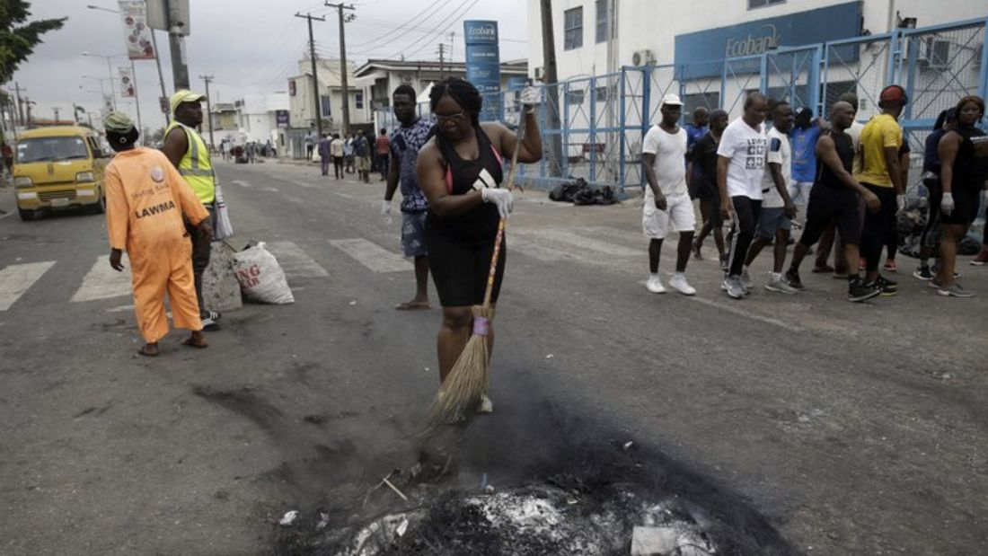 Nigeria's police order massive mobilization after unrest
