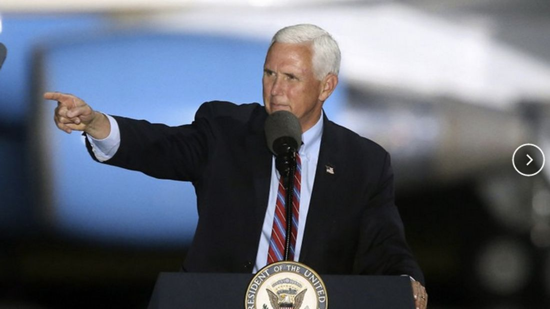 Pence to keep up travel despite contact with infected aides By ZEKE MILLER and JILL COLVIN