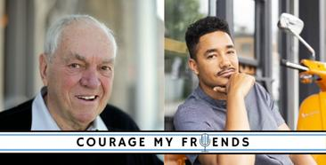 'Courage My Friends' Podcast Episode 1: The Convergence: COVID, Capitalism, Climate