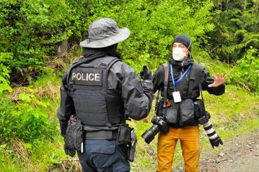 The Other Fight at Fairy Creek: Press Freedom