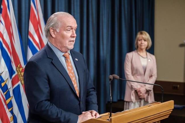 Horgan govt considering a 'BC bubble'