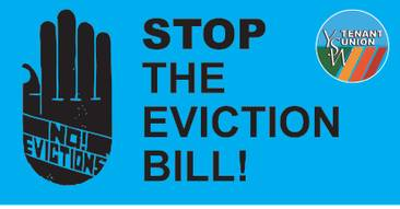 Stop the Eviction Bill!
