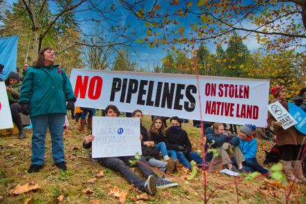 Stopped the Energy East Pipeline