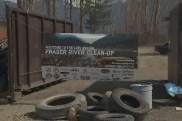 Volunteers assemble by the hundreds to clean up garbage on Fraser River