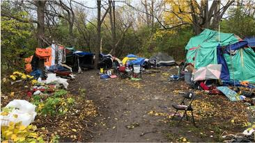 """CTV: Ottawa fire victims living in """"tent city"""""""