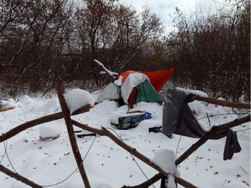 Ottawa Sun: Political pressure heats as Ottawa's 'tent city' gets blast of frigid weather