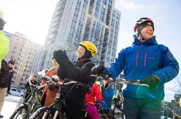 City looking for more winter cyclists