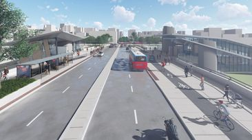 New Cycle Tracks Coming to Booth Street Bridge