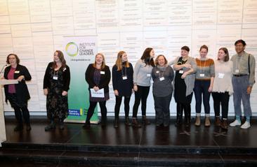 Lisa Johnston and Carolyn Ferns - ICL Team Building for Change Alumni Award Winners
