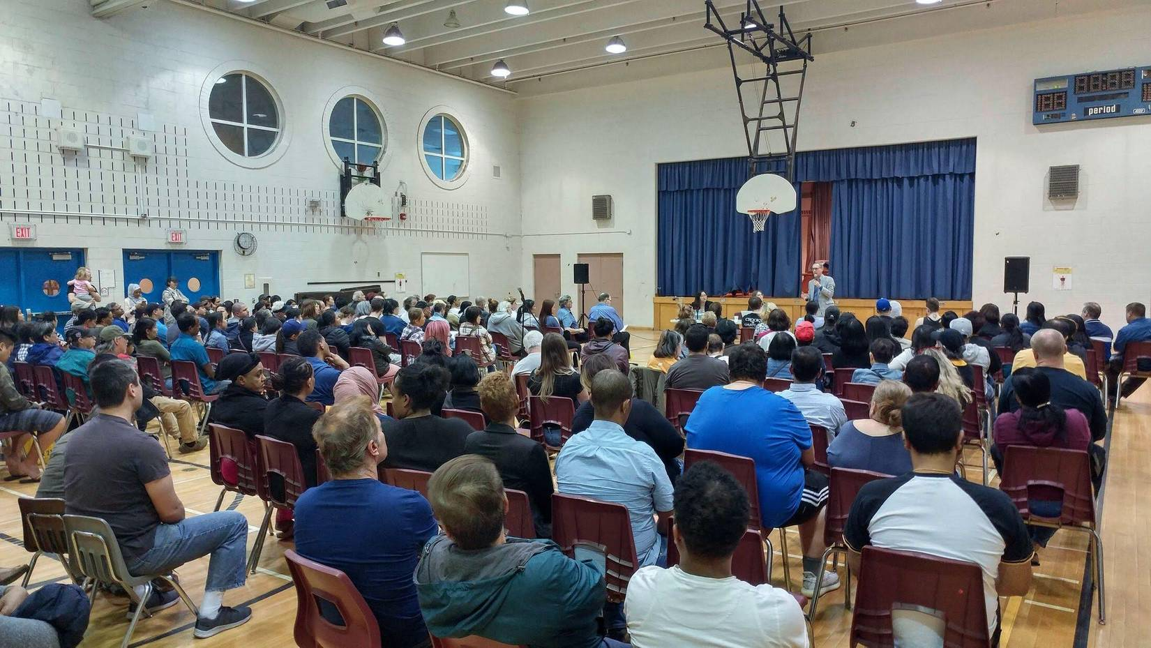 St. James Town Meeting