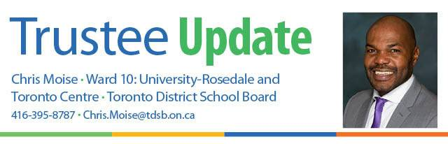 TDSB Update from Chris Moise