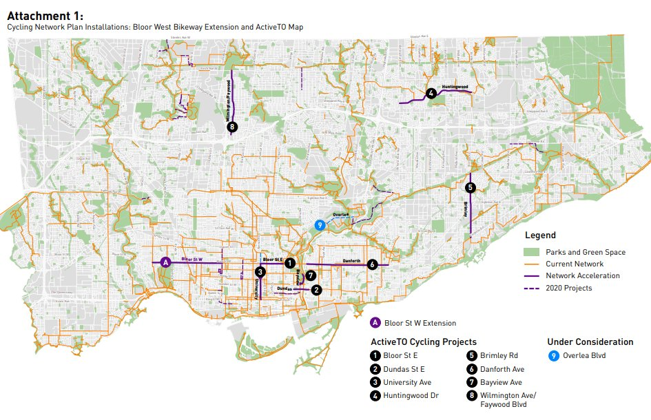 Cycling Network Plan Update