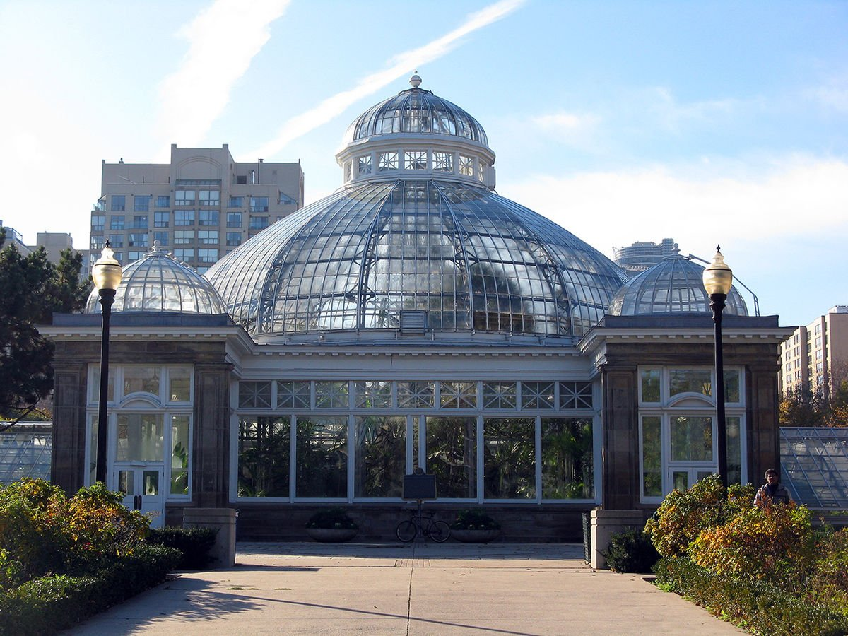 A picture of Allan Gardens