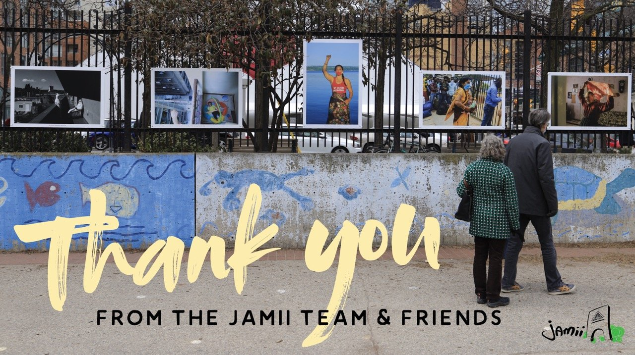 """A picture that reads """"Thank you Jamii"""""""