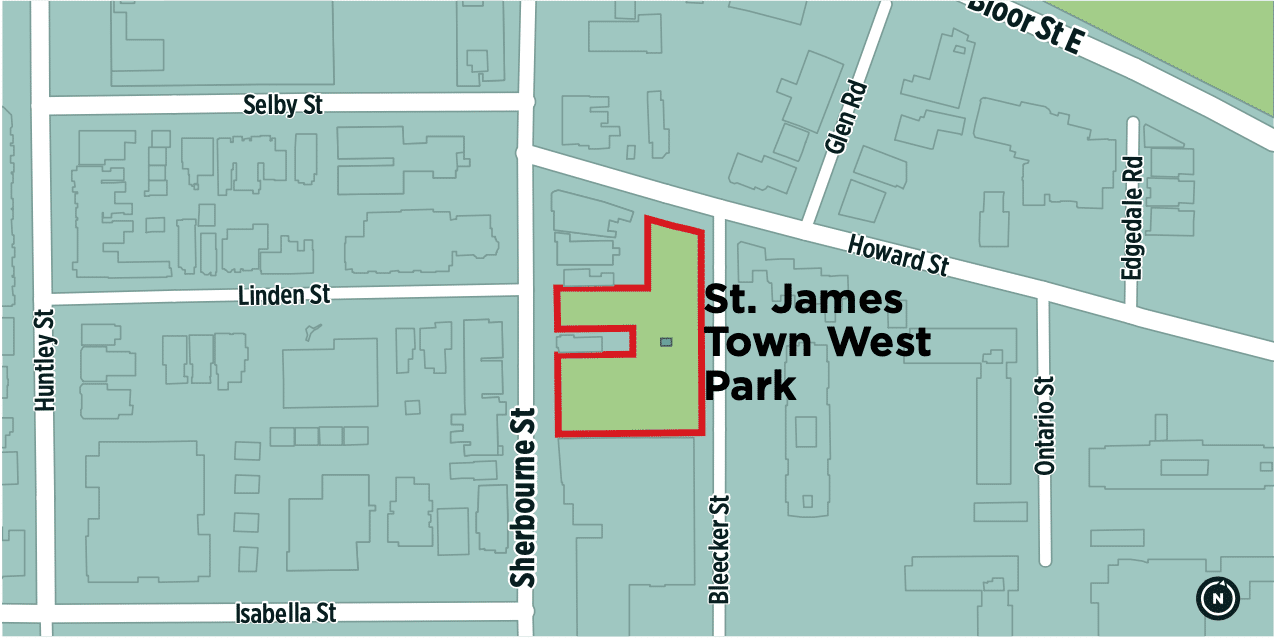 St. James Town West redesign