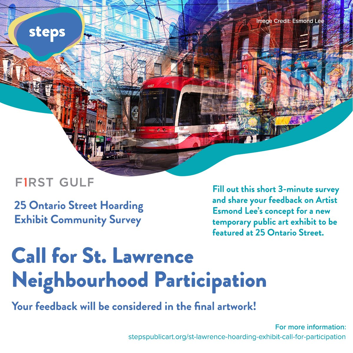 Call for St. Lawrence Neighbourhood participation promotional image