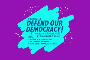Defend Our Democracy Town Hall with Kristyn, Chris & Suze