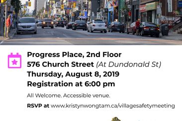 Church Wellesley Community Safety Townhall