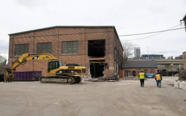 Court injunction filed as heritage activists step up fight to save Toronto's Foundry buildings