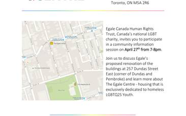 Egale LGBT Transitional Housing Community Information Session
