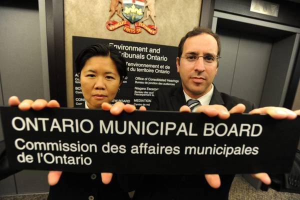 Dismantling the Ontario Municipal Board (OMB)