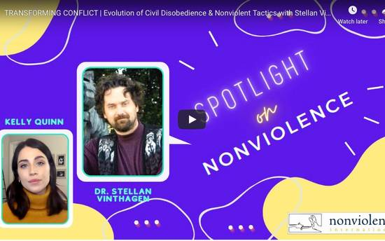 Spotlight on Nonviolence - Stellan Vinthagen