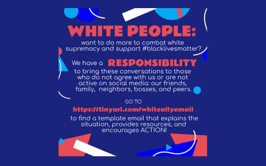 White Ally Email on the Web