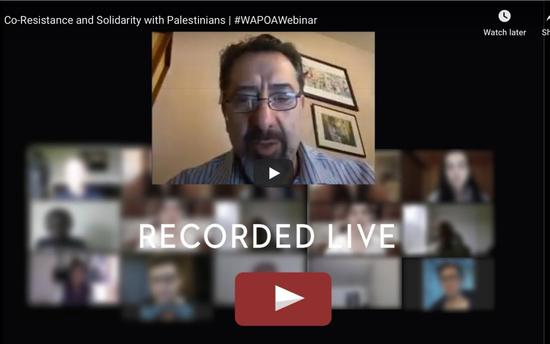 Co-Resistance and Solidarity with Palestine - Webinar