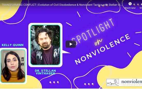 Spotlight on Nonviolence - Stellan Vinthagen