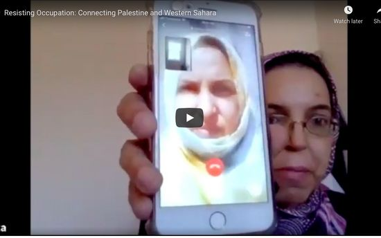 Resisting Occupation: Connecting Palestine and Western Sahara - Webinar