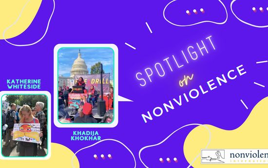 Spotlight on Nonviolence - Khadija Khokhar