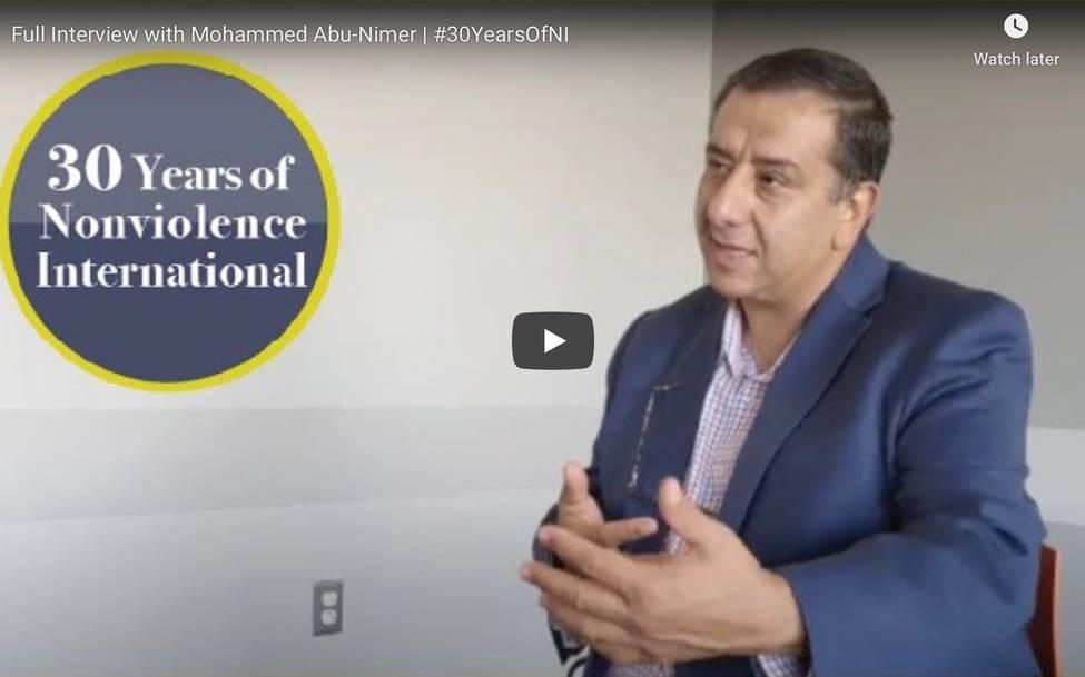 Celebrating 30 Years of Nonviolence International - Mohammed Abu-Nimer