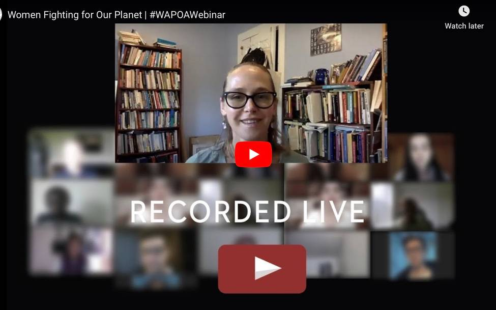 Earth Day Celebration of Nonviolent Responses to the Climate Crisis - Webinar