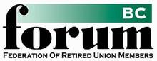 BC Federation of Retired Union Members