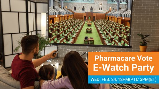 Pharmacare Vote E-Watch Party