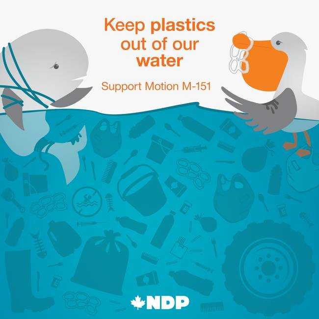 Keep Plastic Out of Our Water